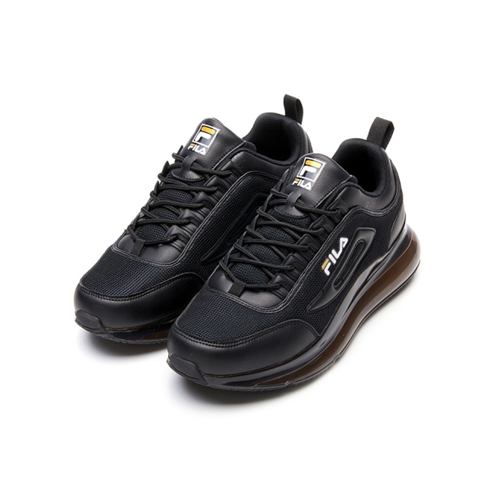 FILA BUBBLE POPUP 男慢跑鞋-黑 1-J327V-081