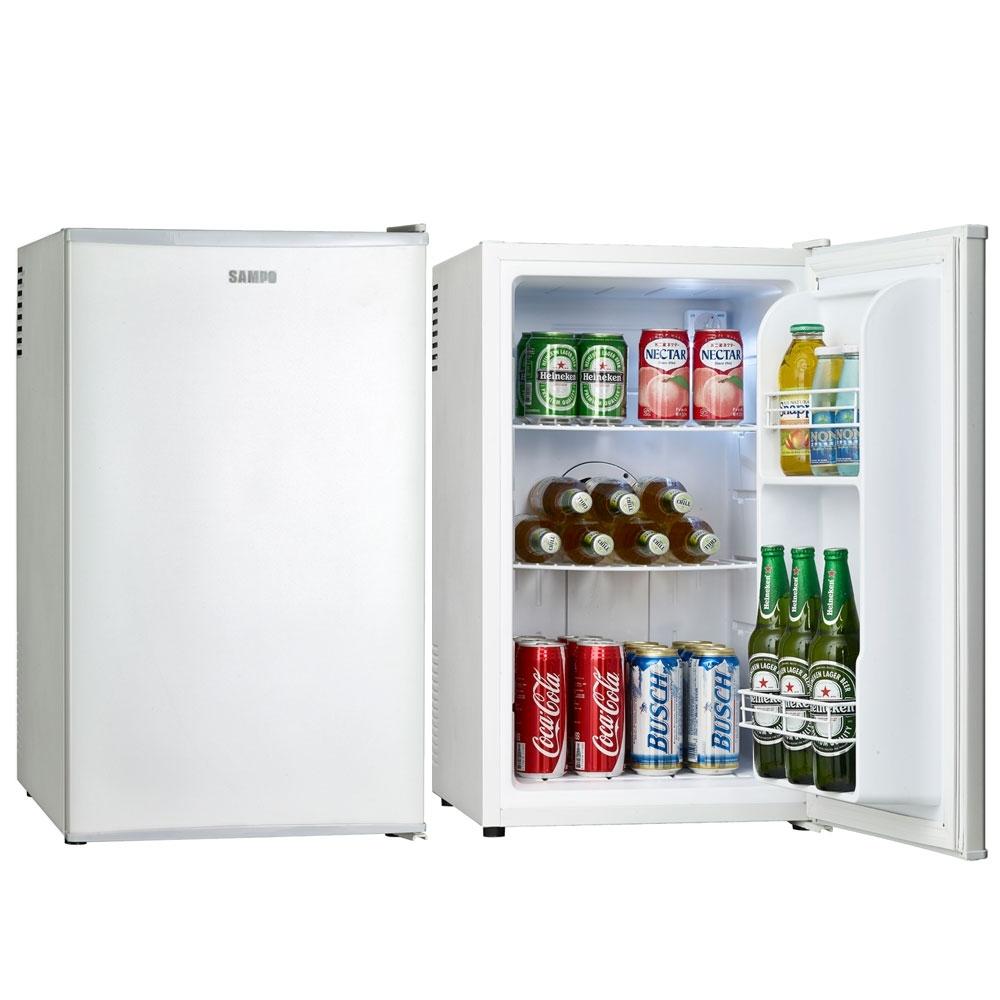 福利品-SAMPO聲寶 70L 電子冷藏小冰箱 KR-UB70C