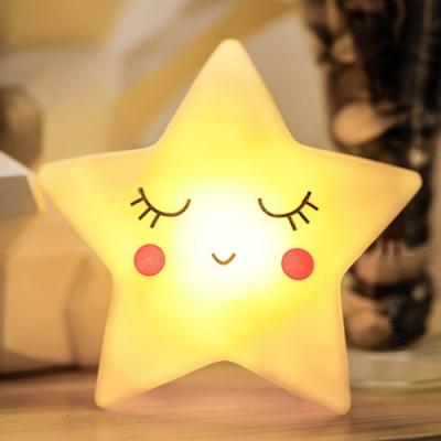iSFun 笑臉星星 黃光童趣造型夜燈