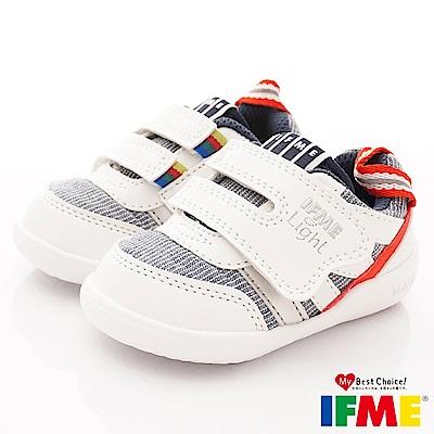 IFME健康機能鞋 輕量學步款 NI00213白(寶寶段)