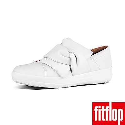 FitFlop F-SPORTY扭結休閒鞋白色