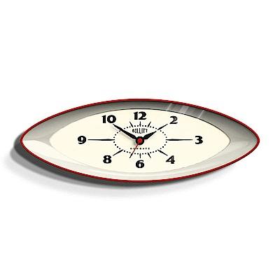 Newgate 英倫風格時鐘-布列特-英倫紅-15.8cm x 45cm