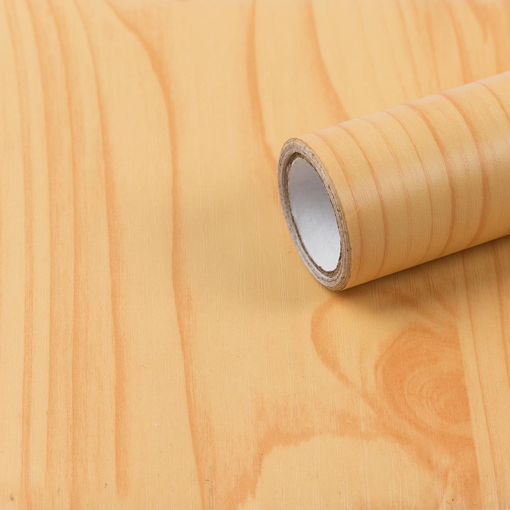 樂嫚妮 DIY裝修加厚防水仿木紋壁貼 60X300cm-M94