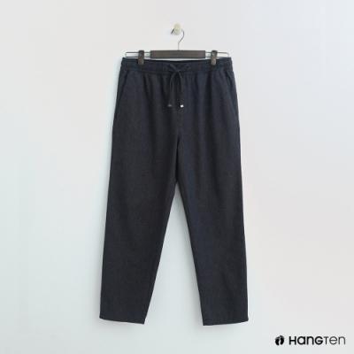 Hang Ten - 男裝 - 鬆緊休閒西裝褲 - 藍