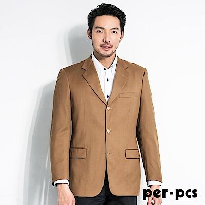 per-pcs 雅緻品味毛料經典素面款西裝外套(84511)