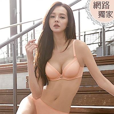 曼黛瑪璉-保氧超細緻內衣  B-D罩杯(纖柔粉)