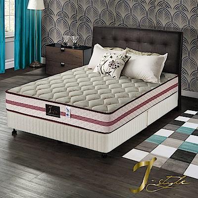 J-style婕絲黛 頂級飯店款涼感紗彈簧床墊 雙人加大6x6.2尺