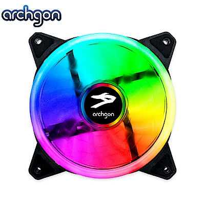 Archgon Mirage RGB 電競風扇-呼吸燈(RGBSF11)-2入組