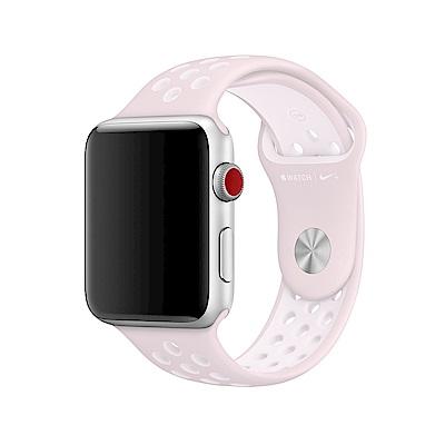 【APPLE原廠】Barely Rose配Pearl Pink Nike運動錶帶