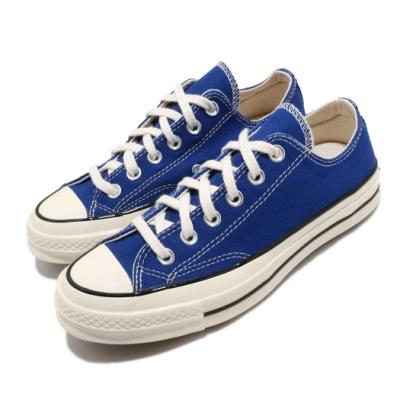 Converse 休閒鞋 Chuck 70 情侶 男女鞋 低筒 帆布 基本款 穿搭 球鞋 藍 米 168514C