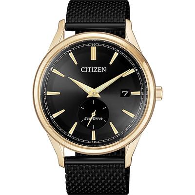 CITIZEN 星辰 光動能父親節廣告款小秒針手錶-40mm BV1116-80E