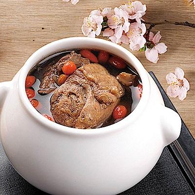 任選_膳食家 加味四物雞獨享盅(420g)