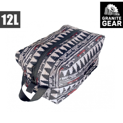 Granite Gear 1000263 70D ZippSack 輕量拉鍊式立體收納袋(12L) / 月光與槳