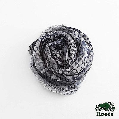 Roots女配件- 梅布爾長條披巾 - 灰色