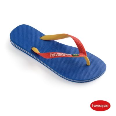 Havaianas 哈瓦仕 拖鞋 夾腳拖 人字拖 巴西 男鞋 女鞋 跳色 星空藍/白 4123206-9565U Brasil Mix