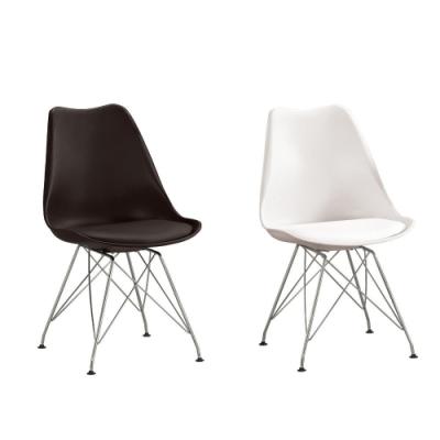 MUNA 靡奇皮餐椅/休閒椅(共兩色) 48X46X82cm