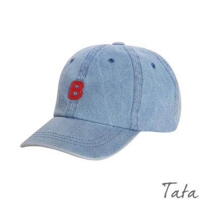 兒童 刺繡字母牛仔帽 共二色 TATA KIDS