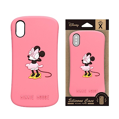 iPhone X 手機殼 迪士尼 可愛/矽膠 軟殼 5.8吋-米妮