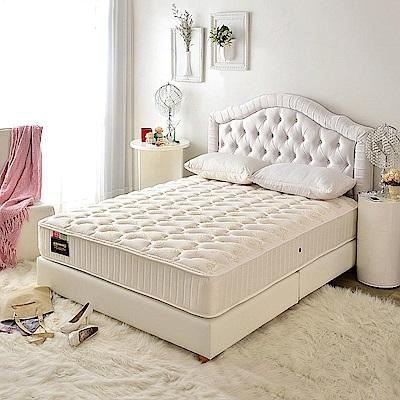 A家-男性/夫妻專用-飯店用涼感抗菌-護邊硬式獨立筒床墊-雙人加大6尺-加強護腰