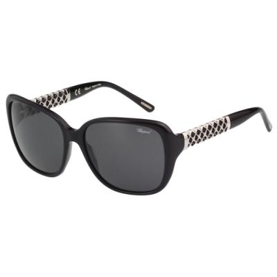 Chopard 水鑽 太陽眼鏡(黑色)SCH184-0700