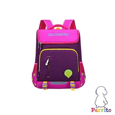 Perrito「閃電學園」太空核心護脊兒童書包 (紫色)