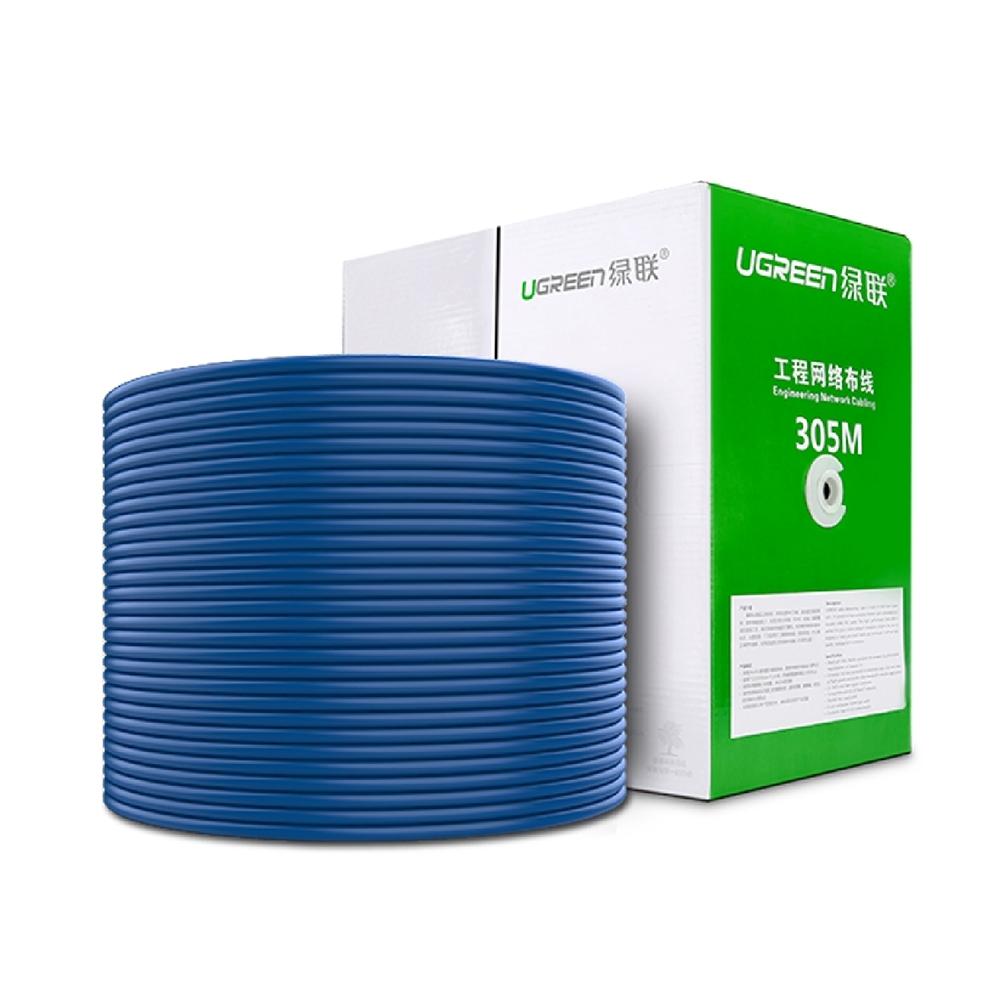 綠聯 CAT6網路線 藍色 美國福祿克品質認證 100M