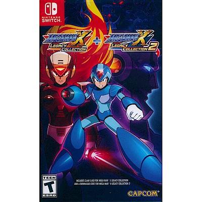 洛克人 X 週年紀念合集 1+2 Megaman X - NS Switch 中英日文美版