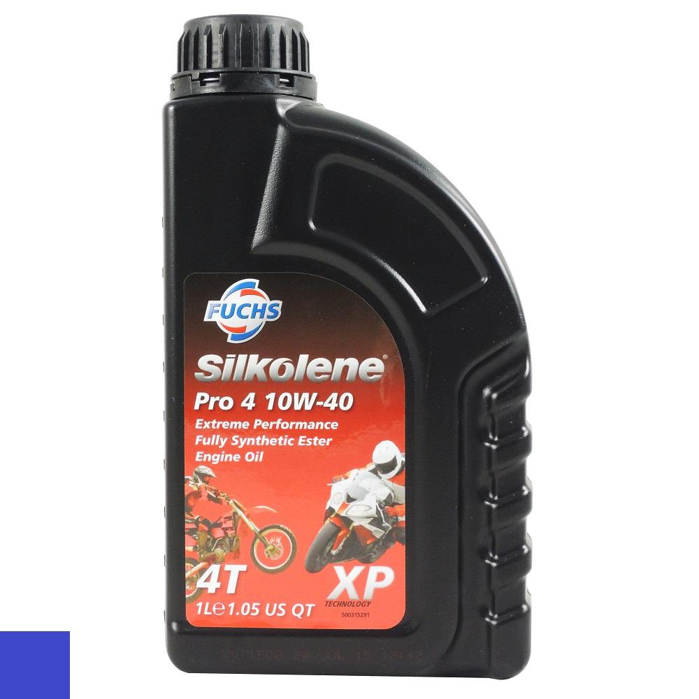 箱購 FUCHS silkolene Pro 4 XP 4T 10W40 酯類全合成機