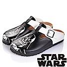 (雙11)StarWars 星際大戰-白兵 減壓吸震腳床型拖鞋-黑