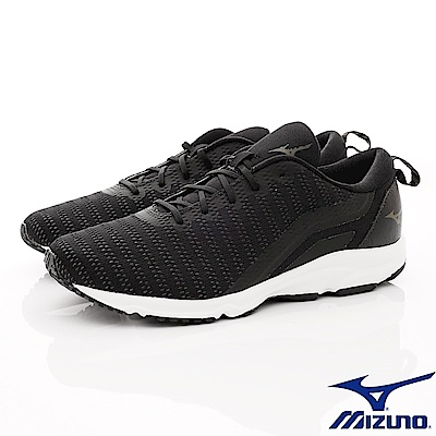 Mizuno美津濃-避震慢跑鞋-185509黑(男段)