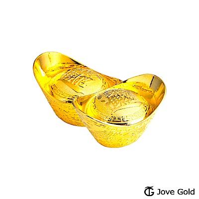 Jove gold 叁台錢黃金元寶x2-招財進寶(共6台錢)