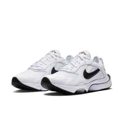 Nike 休閒鞋 Air Zoom Division 女鞋 氣墊 舒適 避震 簡約 球鞋 穿搭 白 黑 CK2950102