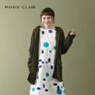【MOSS CLUB】綁帶連帽-針織外套(三色)