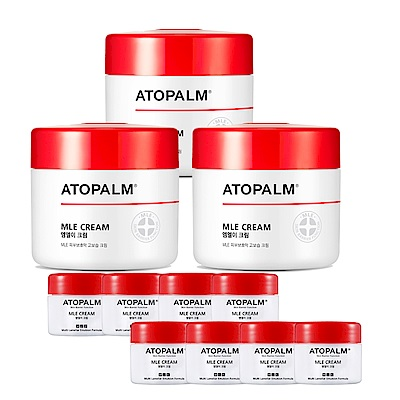 ATOPALM 愛多康 異位肌急救霜超值組(65ml x3+8ml x8)