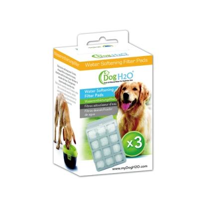 Dog & Cat H2O濾水機-活性碳濾棉-軟水樹脂濾片/犬貓共用