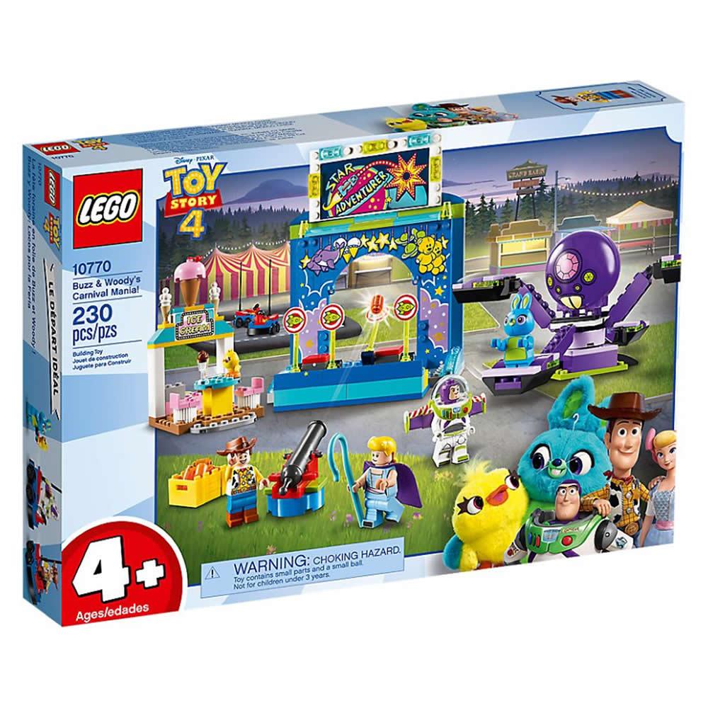 樂高LEGO Junior系列 - LT10770 Buzz & Woody's Carn