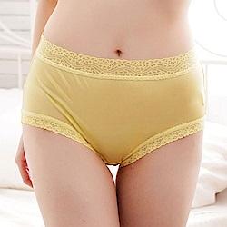 內褲 輕柔素雅100%蠶絲內褲 (黃) Chlansilk 闕蘭絹