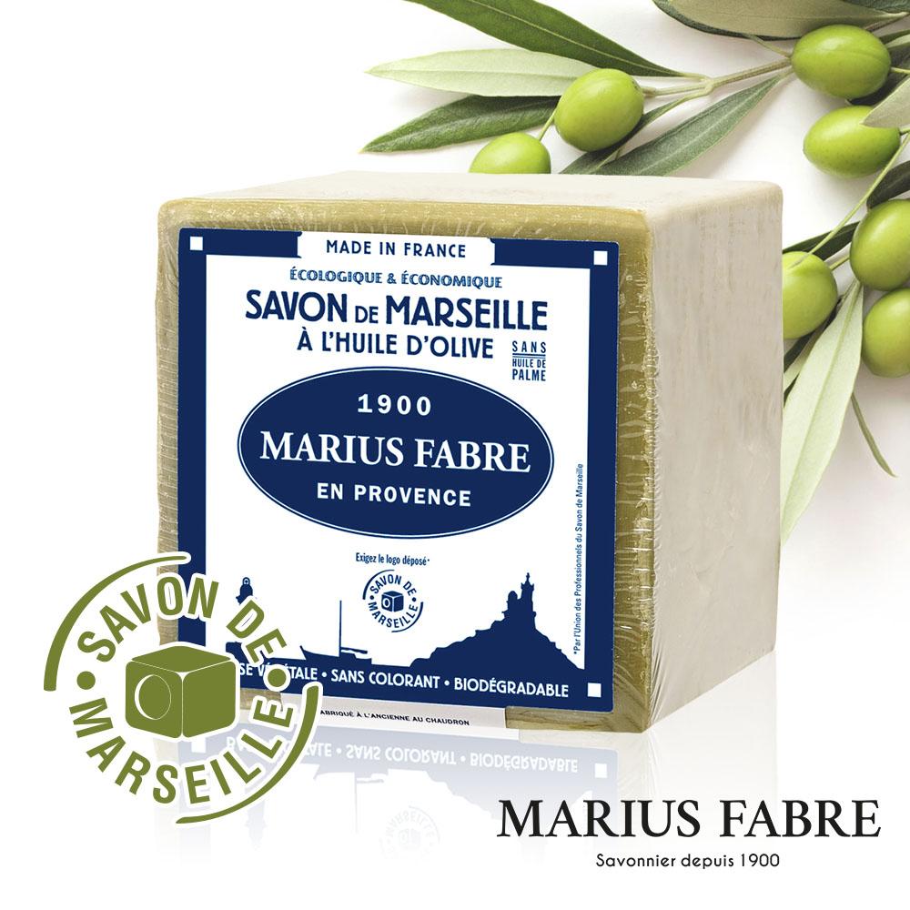 法國法鉑-橄欖油經典馬賽皂-600g/顆