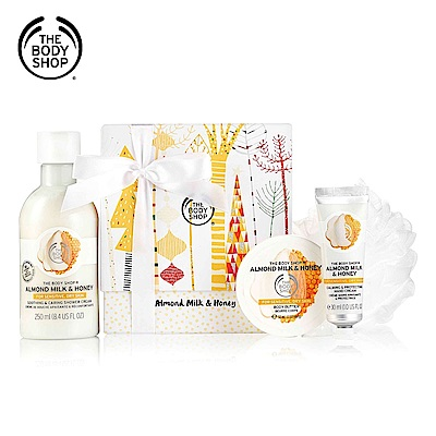The Body Shop 杏奶花蜜精選原裝禮盒