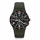 Swatch 原創系列 K-KI 深灰格調手錶