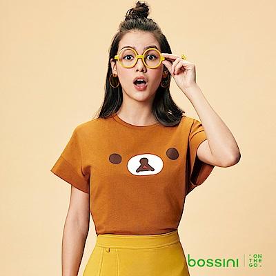bossini女裝-拉拉熊系列印花短袖T恤06土黃
