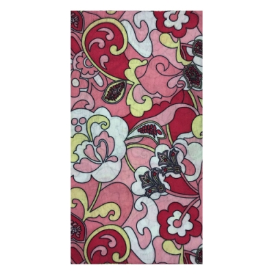 A-Magic 台製頭巾-粉紅花園