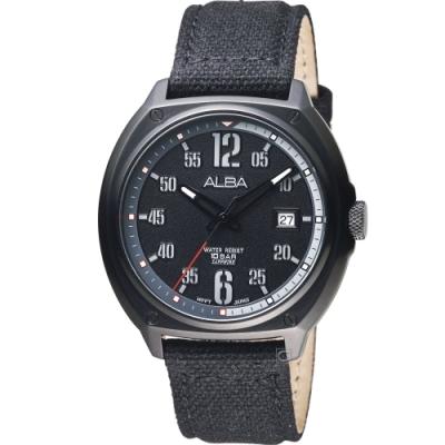 ALBA 雅柏 勇者行動軍式風手錶(AS9J65X1)42mm