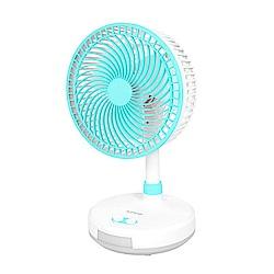 KINYO 8吋充/插電照明 電風扇