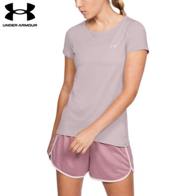 【UNDER ARMOUR】女 Armour HG短T-Shirt