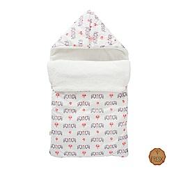 荷蘭 FRESK 嬰幼兒有機棉保暖睡袋 (粉紅大象)
