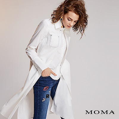 MOMA層次剪裁造型襯衫