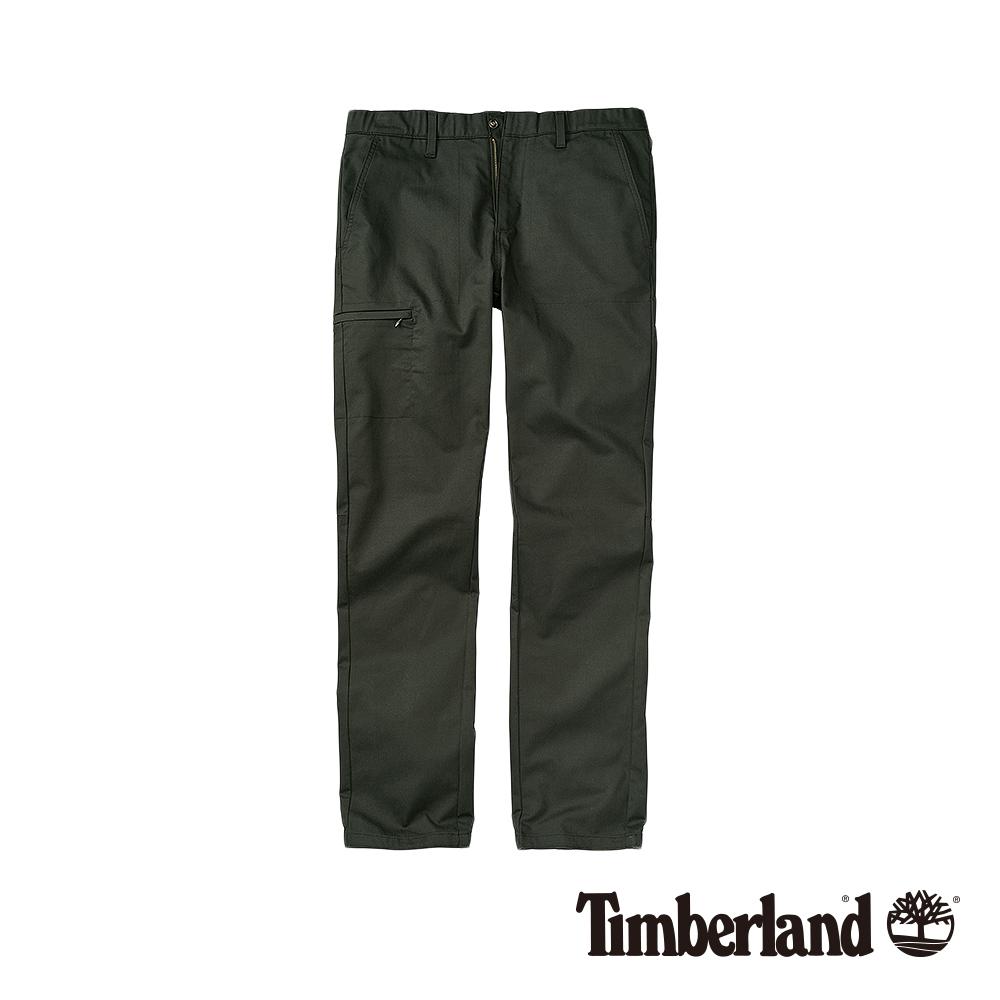 Timberland 男款泥炭灰修身錐形慢跑長褲|A1WBB