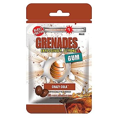 GRENADES手榴彈口香糖-瘋狂可樂60g