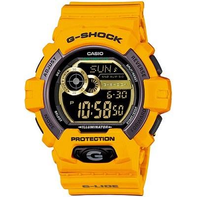 G-SHOCK 極限運動抗-20℃低溫男錶-亮桔(GLS-8900-9D)/32mm
